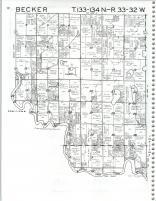Map Image 001, Cass County 1985